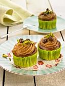 Haselnuss-Cupcakes, glutenfrei