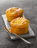 Sweet potato,coconut and mango muffins