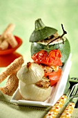 Provençal-style stuffed vegetables