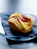 Flaky pastry with cheese made by Christophe Berger