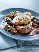 Tournedos Rossini with dried fruit