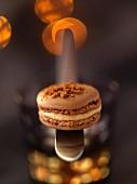 Foie gras macaroon