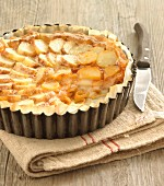 Potato and Comté savoury tart