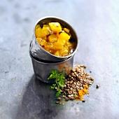 Mango and coriander chutney