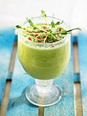 Avocado and celery soup