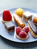 Assorted petit-fours