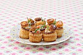 Shrimp and anchovy mini Vol-au-vents