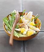 Skate and citrus fruit salad