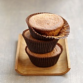 Chestnut cream cupcakes