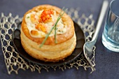 Crayfish vol-au-vent