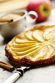 Crisp apple tart