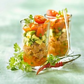 Veal and Espelette pepper tartare