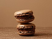 Two stacked macaroons