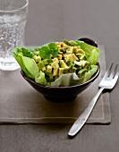 Diced avocado with Espelette pepper