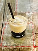 Milchreis aus Vanille-Sojadrink auf Blaubeerkompott (laktosefrei)