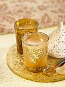 Cardamom, cinnamon and clove Masala chai