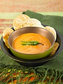 Tomato and peanut dip