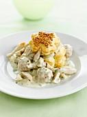 Vol au Vent, Blätterteig-Pastetchen mit Geflügelragout