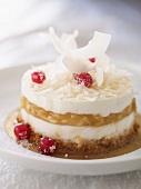 Cheesecake-style blancmange