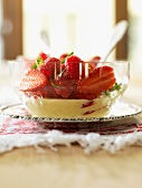 Strawberry fruit salad