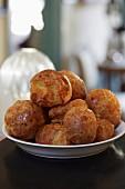 Savoury choux pastries