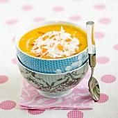 Pumpkin-surimi Cappuccino