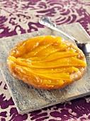 Mango tatin tartlet