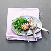 Spoonfuls of Dublin Bay prawn tartare