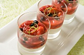 Summer fruit salad Verrine