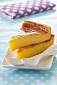 Slices of Flan