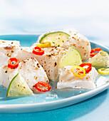 Fisch-Ceviche
