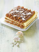 Mont-Blanc-style chestnut cream lasagnes