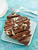 Chocolate and orange fondant
