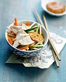 Pekin-style chicken salad