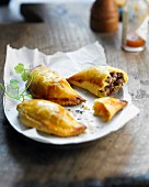 Mexican mini meat pies