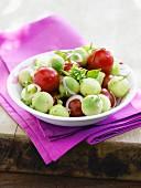 Mini ball salad