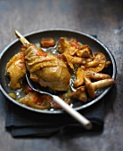 Bresse chicken with saffron