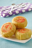 Small Asian soya cream cookies