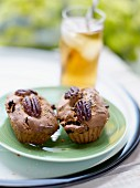 Pecan, dried fruit and Bourbon small cakes