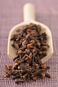 Scoopful of cloves