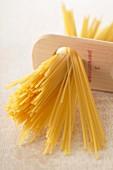 Spaghetti portionieren