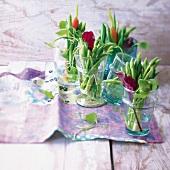 Vegetable bouquets
