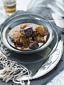 Lamb, prune and honey Tajine