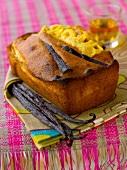 Mango, vanilla and Rum cake