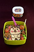 Dog-shaped Bento