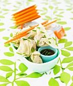 Chinese raviolis