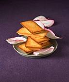 Rose-flavored Financiers