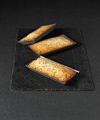 Orange and poppyseed Financiers