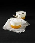 Yoghurt with citrus fruit marmelade