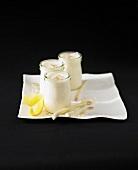 Citronella yoghurts